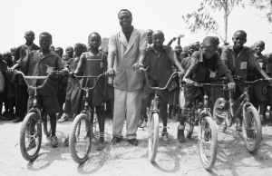 P4P bicycles at a local school in Kenema