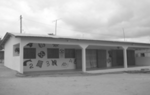 Project OKURASE building in Ghana