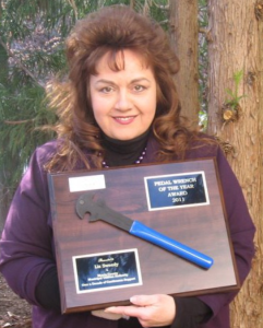 Liz Sweedy: 2011 Pedal Wrench of the Year Award