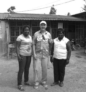John Elias in Jamaica with our P4P partners