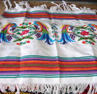 Table cloth with Quetzal