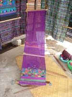 Traditional hand loom